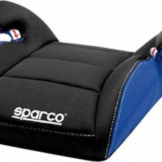 Sparco | F100 K | zitverhoger | 15 tot 36 kg | 4 t/m 12 jaar E1| zitje bimbo | zwart/blauw | sparco zitverhoger | kinderstoel | autostoel