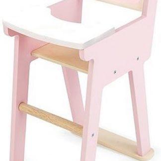 Tenderleaftoys poppen kinderstoel roze