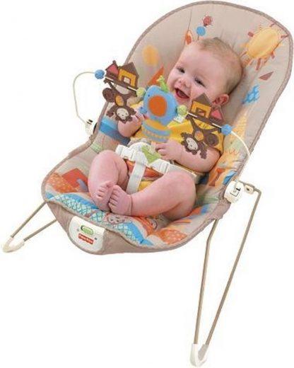 Wipstoeltje Fisher Price Baby Ligstoel - wipstoel met trilfunctie