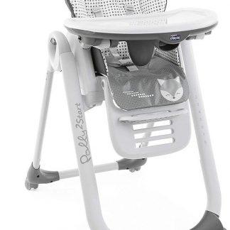 Chicco Polly 2 Start Kinderstoel - Baby eetstoel - Verstelbare rugleuning - Hoogte verstelbaar - Foxy