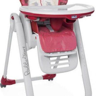 Chicco Polly 2 Start Kinderstoel - Baby eetstoel - Verstelbare rugleuning - Hoogte verstelbaar - Lion