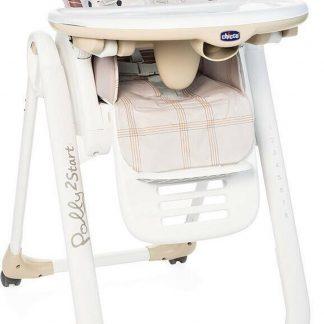 Chicco Polly 2 Start Kinderstoel - Baby eetstoel - Verstelbare rugleuning - Hoogte verstelbaar - Monkey
