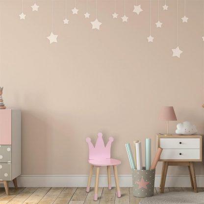 Kinderstoel Kroon Roos in Hout - Kinderen - Kinderkamer - Babykamer - Deco- Meisjes