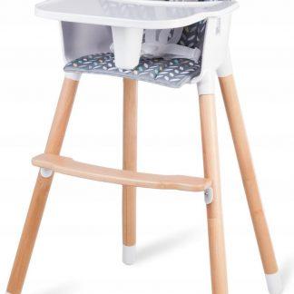 Lionelo Koen - 2 in 1 kinderstoel - Geschikt voor 9-36 kg - Grijs/Geel